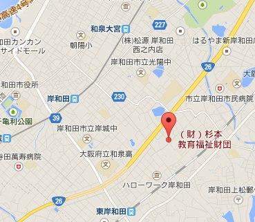 杉本財団地図